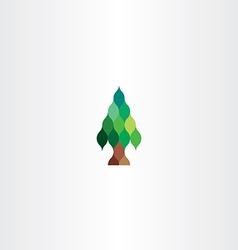 Fir tree icon design vector