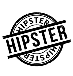 Hipster rubber stamp vector
