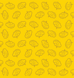 brain pattern scientific or business background vector image