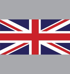 England flag with standard proportion color mode vector