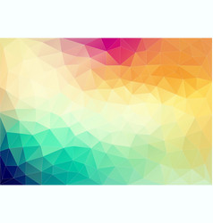 Abstract geometric colorful element vector
