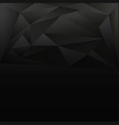 Background design with gray and black triangles vector