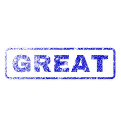 Great rubber stamp vector