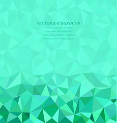 Abstract triangle background design vector