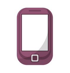 cellphone mobile technology icon vector image