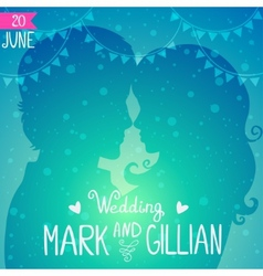 Love invitation vector