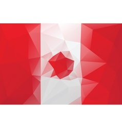 Canadian flag vector