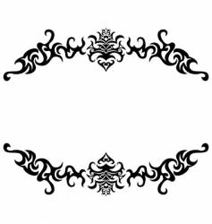 Gothic frame vector