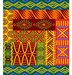 Abstract ethnic patterns vector