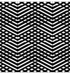 Tile black and white pattern vector