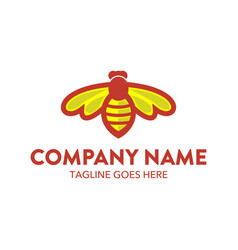 Bee logo-9 vector