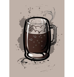 Beer Cup vector image