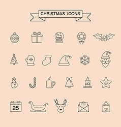 Christmas 08 06 vector image vector image