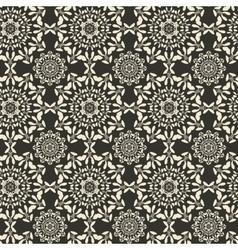 Mandala round ornament seamless texture Circular vector image