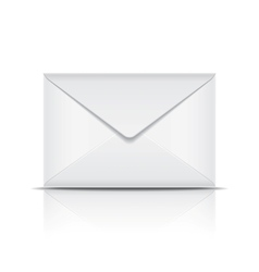 White envelope vector