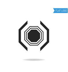 Business technical and engineering logo for vector