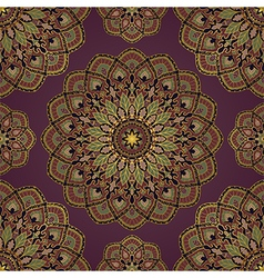 Abstract pattern of mandalas vector