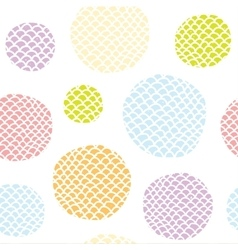 Pop art doodle seamless background pattern vector image vector image