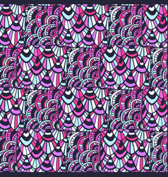 Ornamental indian pattern fashion textile swatch vector