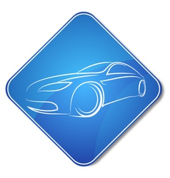Auto design icon vector