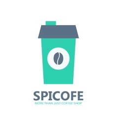 Coffee logo or icon vector