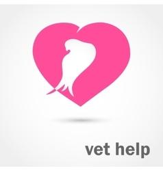 Vet help vector