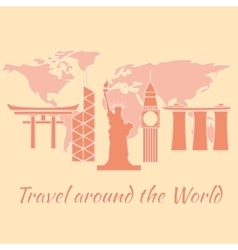 travelaroundtheworld vector image