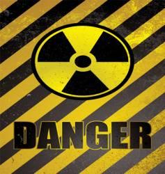 danger poster vector image