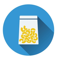 Macaroni package icon vector