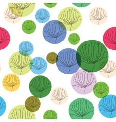Natural Seamless Patterns Backgrounds vector image vector image