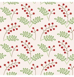 Pattern berries vector