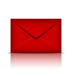 Red envelope vector image
