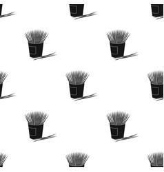 Toothpicks icon in black style isolated on white vector