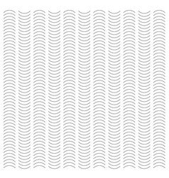 seamless wave and vertical stripe pattern simple vector image vector image