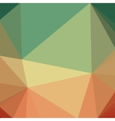 Abstract creative concept low poly triangle vector