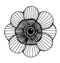 Flower 209 04 vector