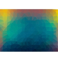 Multicolor composition with ceramic shapes vector