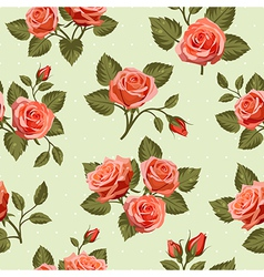 Seamless Floral pattern 7 vector image vector image