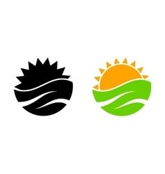 Travel logo company logo design vector