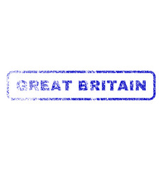 Great britain rubber stamp vector