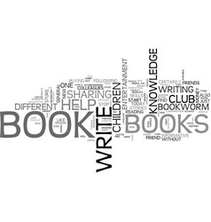 Are you a bookworm text background word cloud vector