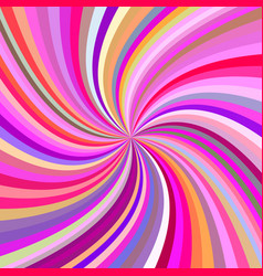 Multicolored abstract swirl background vector