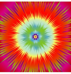 Star explosion vector image