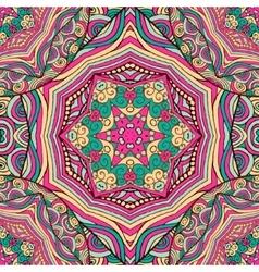 Bohemian style seamless tile vector