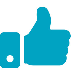 business networking like hand icon vector image