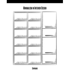 high cabinet with shelves and doors in a contour vector image vector image