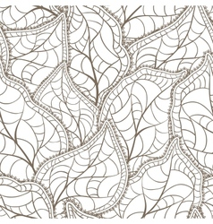 leaves Seamless Pattern vector image vector image