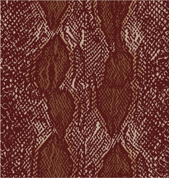 Snake seamless textile pattern 3 colors vector
