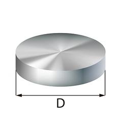 Steel disc industrial metal object vector
