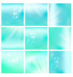 Light blue sky or water blur vector